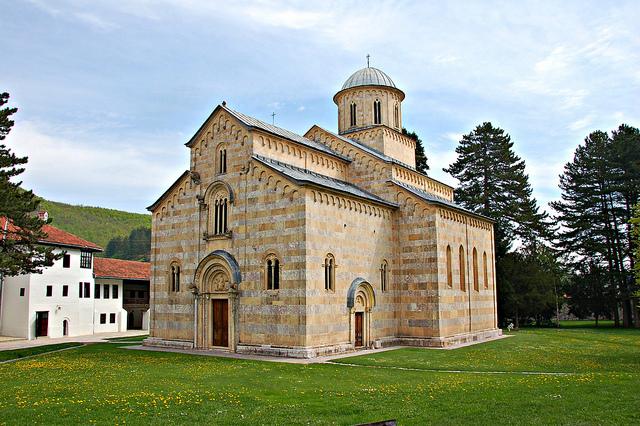 コソボの中世建造物群の絶景写真...