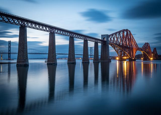 フォース橋の絶景画像