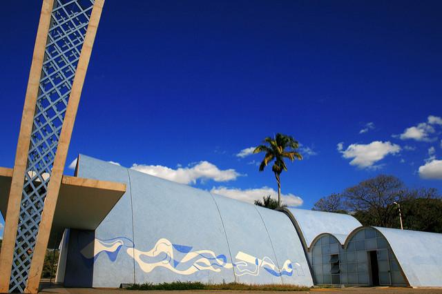 パンプーリャの近代建築群の絶景...