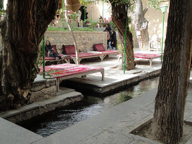 ペルシャ式カナートの絶景写真画...