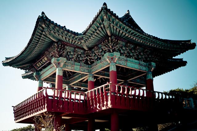 石窟庵と仏国寺の絶景画像