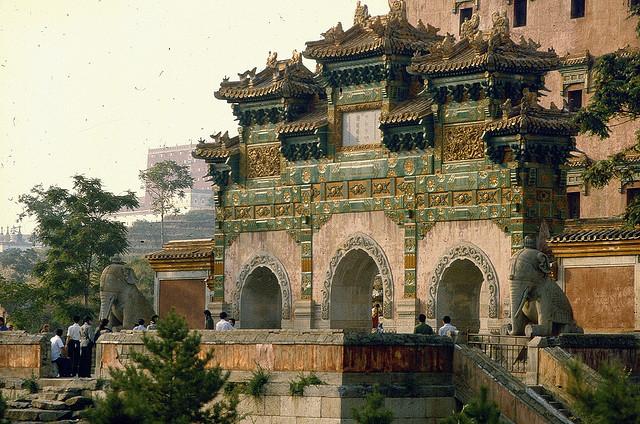 承徳の避暑山荘と外八廟の絶景画像