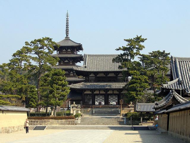 法隆寺地域の仏教建造物の画像 p1_37