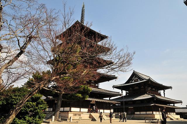 法隆寺地域の仏教建造物の画像 p1_38