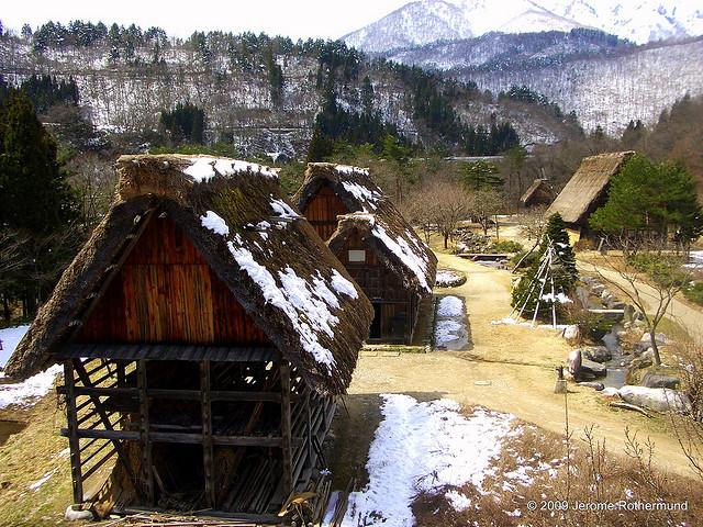 白川郷・五箇山の合掌造り集落の画像 p1_7
