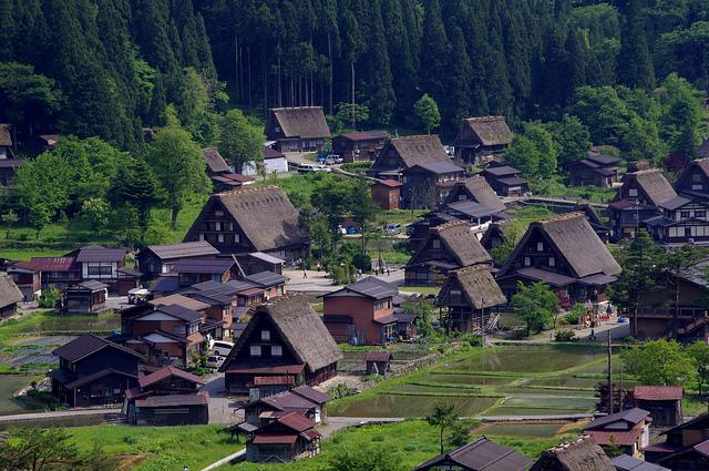 白川郷・五箇山の合掌造り集落の画像 p1_20