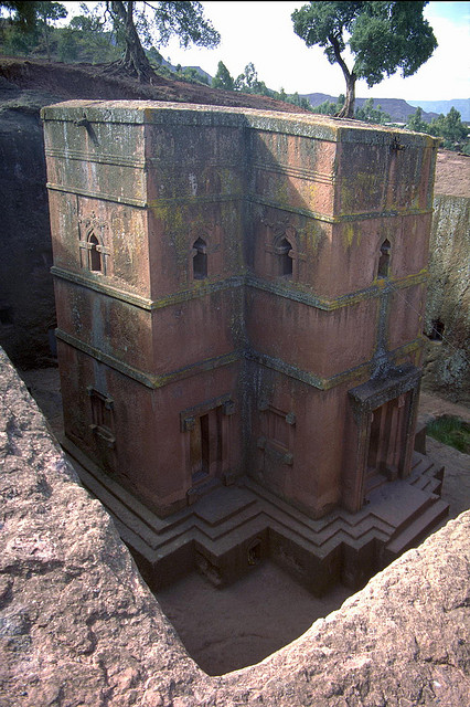 ラリベラの岩窟教会群の画像 p1_36