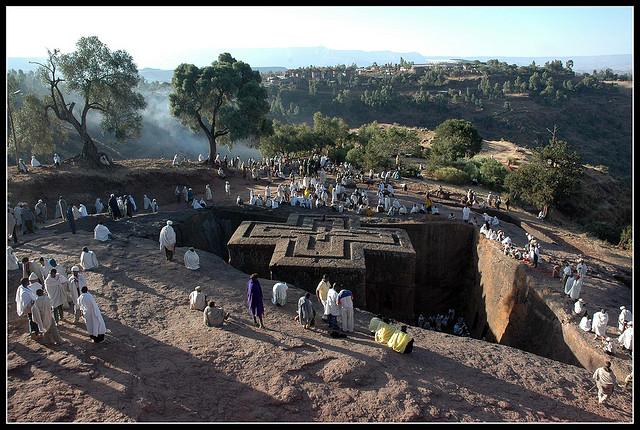 ラリベラの岩窟教会群の画像 p1_9