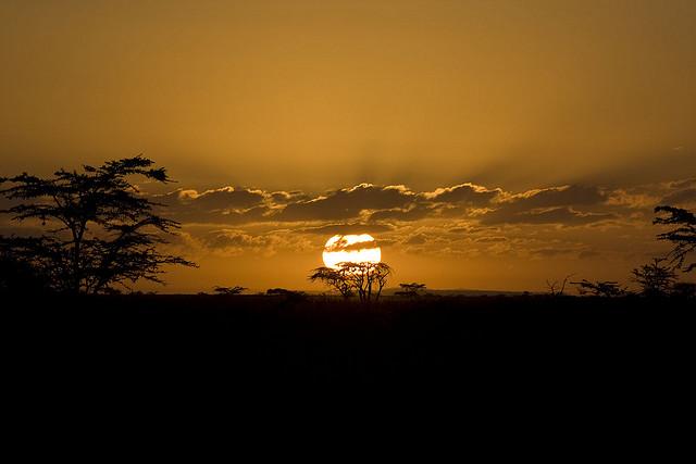 トゥルカナ湖国立公園群の絶景写...
