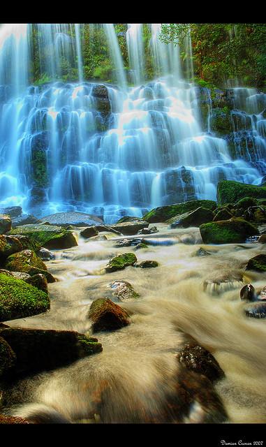 世界遺産 滝 タスマニア原生地域の絶景写真画像 ... タスマニア原生地域の絶景写真画像 オース