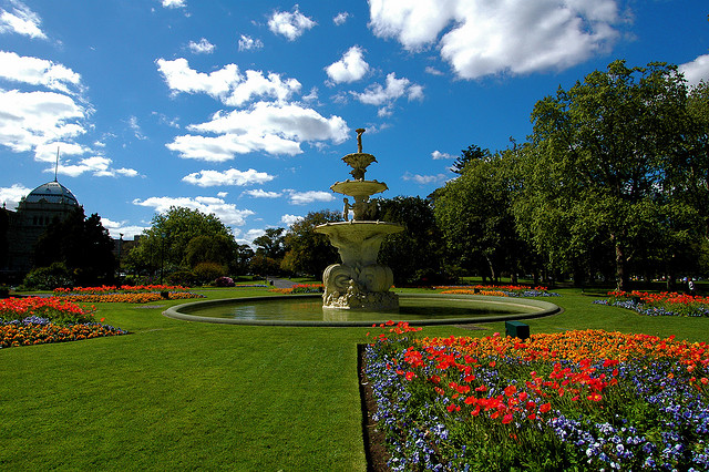 世界遺産 王立展示館とカールトン庭園 王立展示館... 王立展示館とカールトン庭園の絶景写真画像