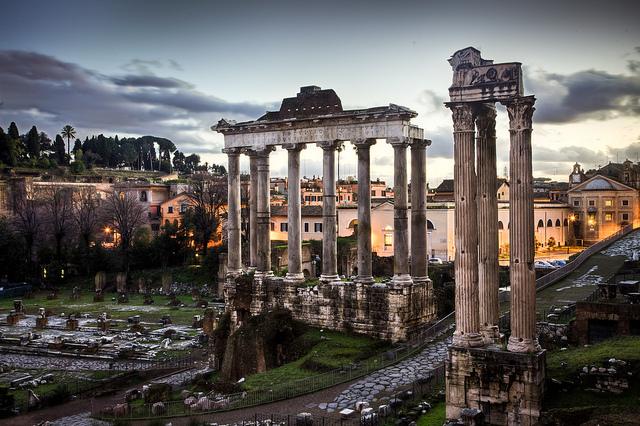 世界遺産 フォロロマーノ ローマ歴史地区、教皇領... ローマ歴史地区、教皇領とサン・パオロ・フ