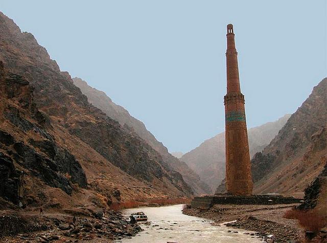 ジャムのミナレットと考古遺跡群の絶景画像