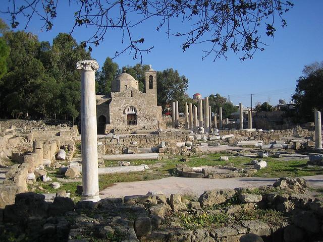 世界遺産 パフォスの画像 キプロスの絶景写真画像  キプロス