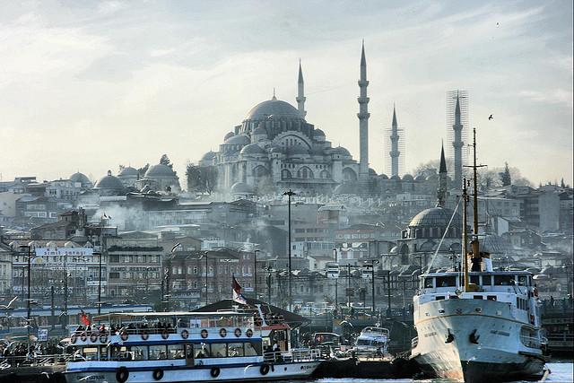 16位イスタンブール歴史地域の絶景画像