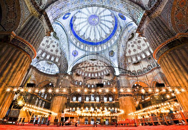 イスタンブール歴史地域の絶景写...