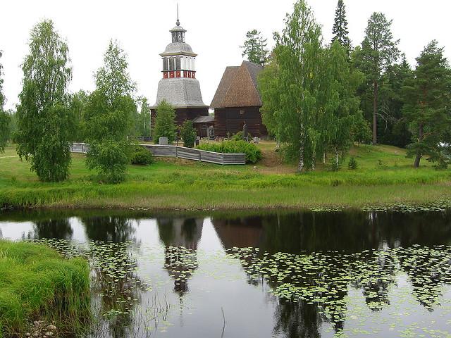 ペタヤヴェシの古い教会の画像 p1_29