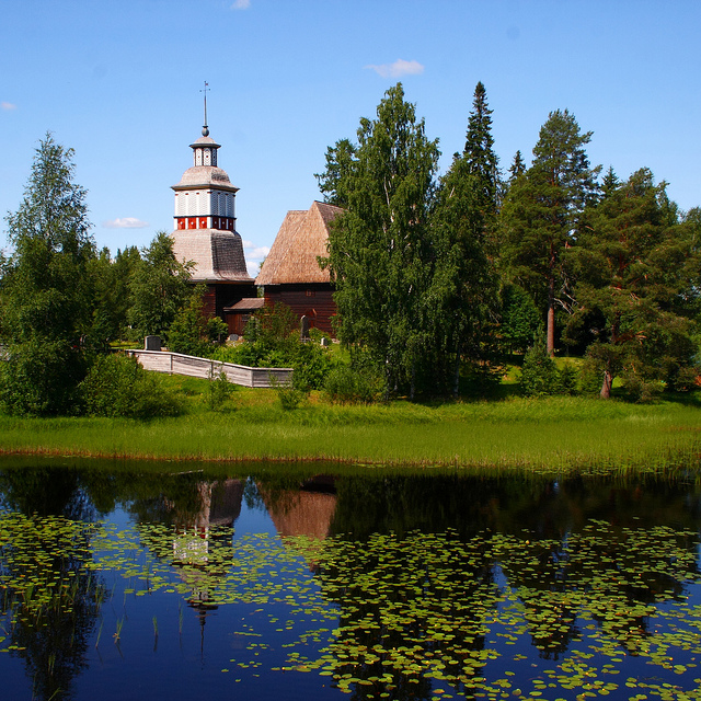 ペタヤヴェシの古い教会の画像 p1_36