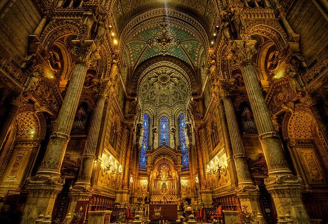 フランスのノートルダム寺院