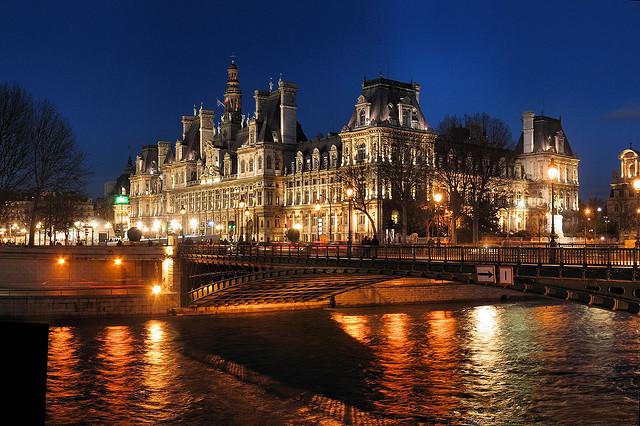 フランスのセーヌ河岸