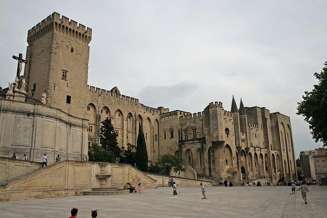 世界遺産 アヴィニョン歴史地区:法王庁宮殿、司教... アヴィニョン歴史地区:法王庁宮殿、司教関