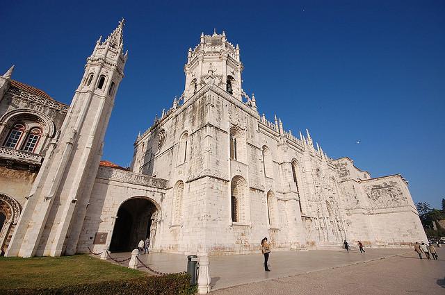 リスボンのジェロニモス修道院とベレンの塔の画像 p1_22