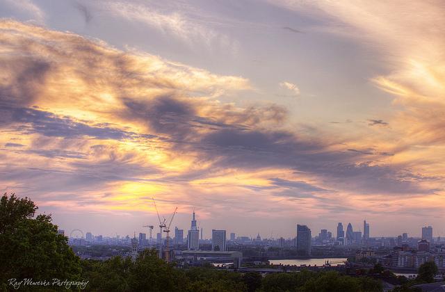 河港都市グリニッジの絶景画像