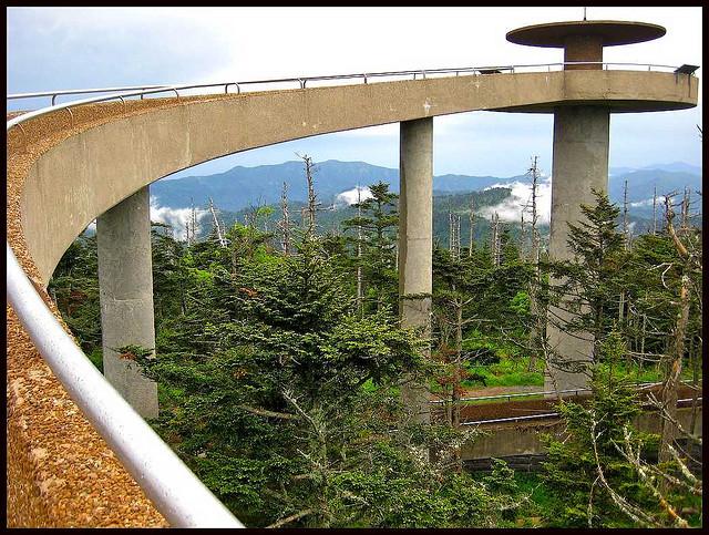 グレート・スモーキー山脈国立公園の絶景画像