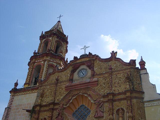 ケレタロのシエラ・ゴルダのフランシスコ修道会伝道施設群の絶景画像