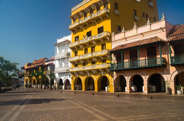 コロンビアカルタヘナの港(住宅_1)