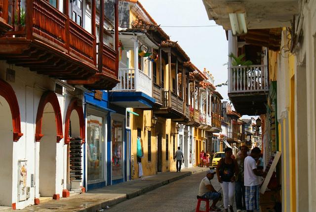 コロンビアの市街地