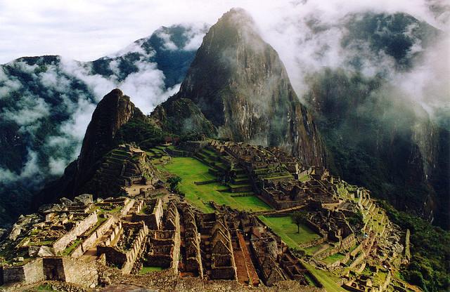 世界遺産 マチュ・ピチュの歴史保護区 マチュ・ピチュの歴史保護区の絶景写真画像  ペルー