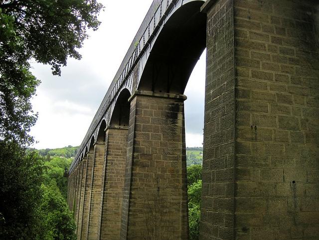 ポントカサステ水路橋と運河の画像 p1_27
