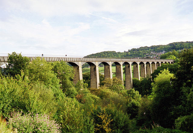 ポントカサステ水路橋と運河の画像 p1_2