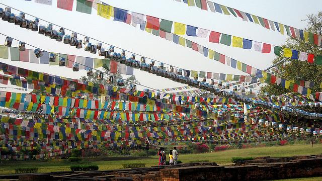 仏陀の生誕地ルンビニの絶景写真...
