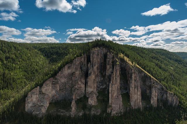 レナ石柱自然公園の絶景写真画像...